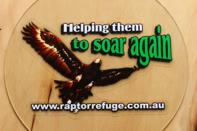 Raptor Refuge Sticker