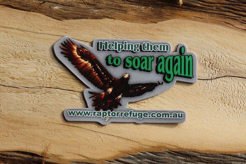 Raptor Refuge Fridge Magnet