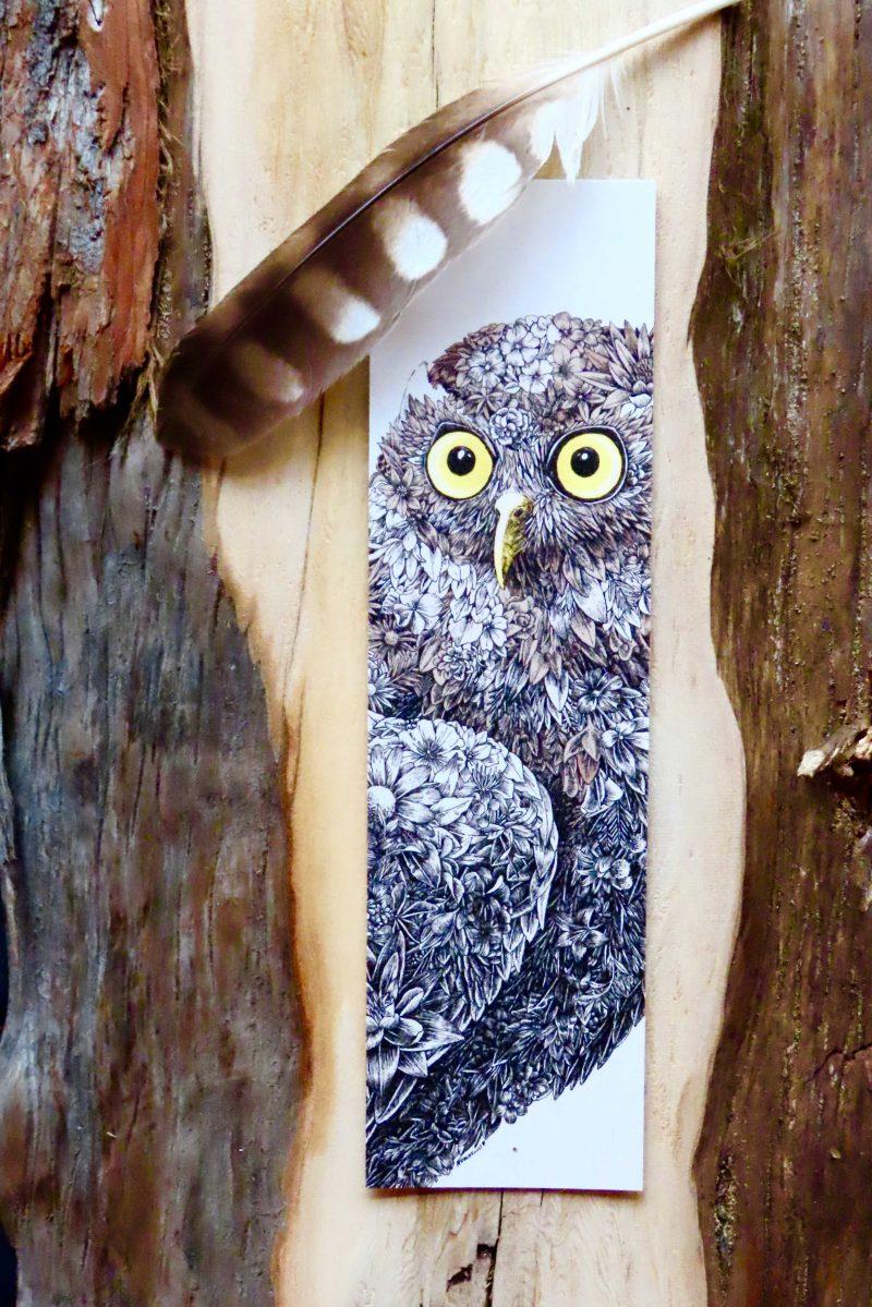Barking Owl Bookmark