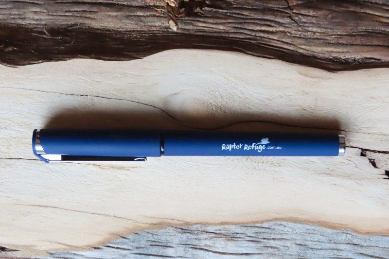 Raptor Refuge Pen (Blue)