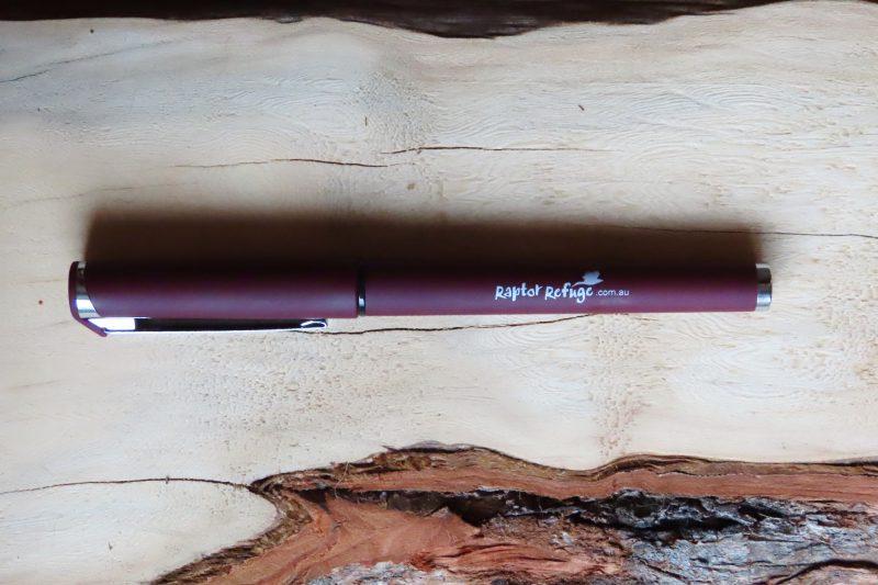 Raptor Refuge Pen (Red)
