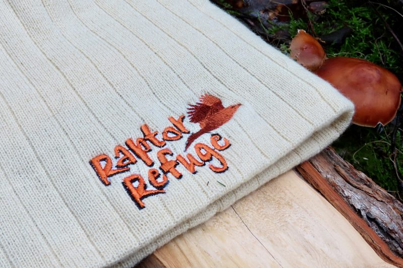Raptor Refuge Beanie (Cream)