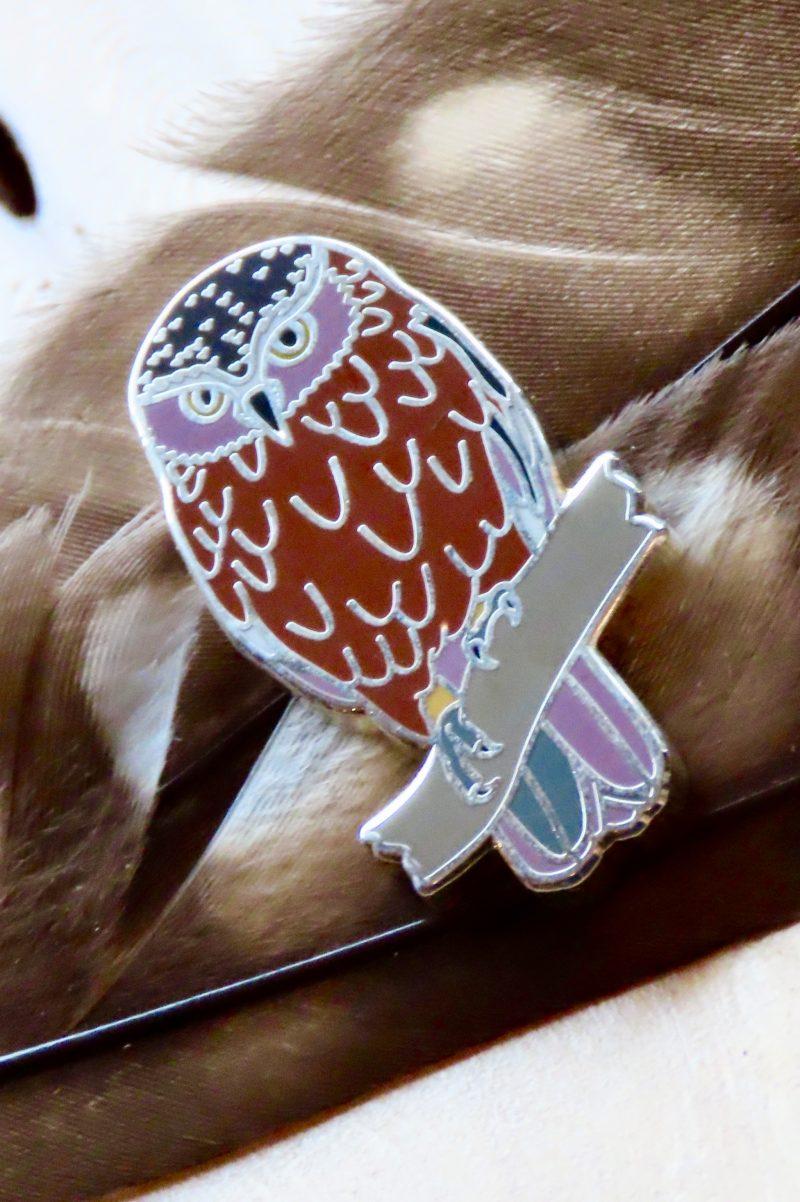Southern Boobook Pin