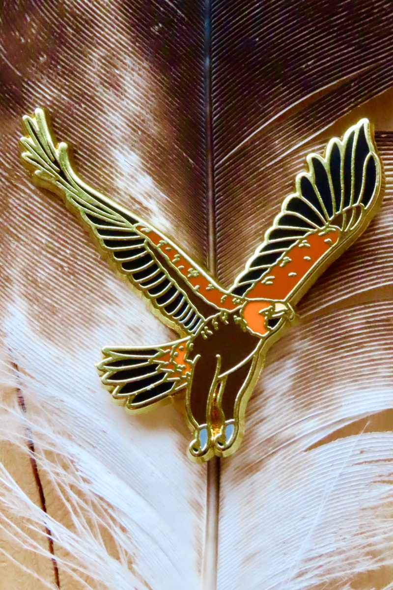 Wedge-Tailed Eagle Pin
