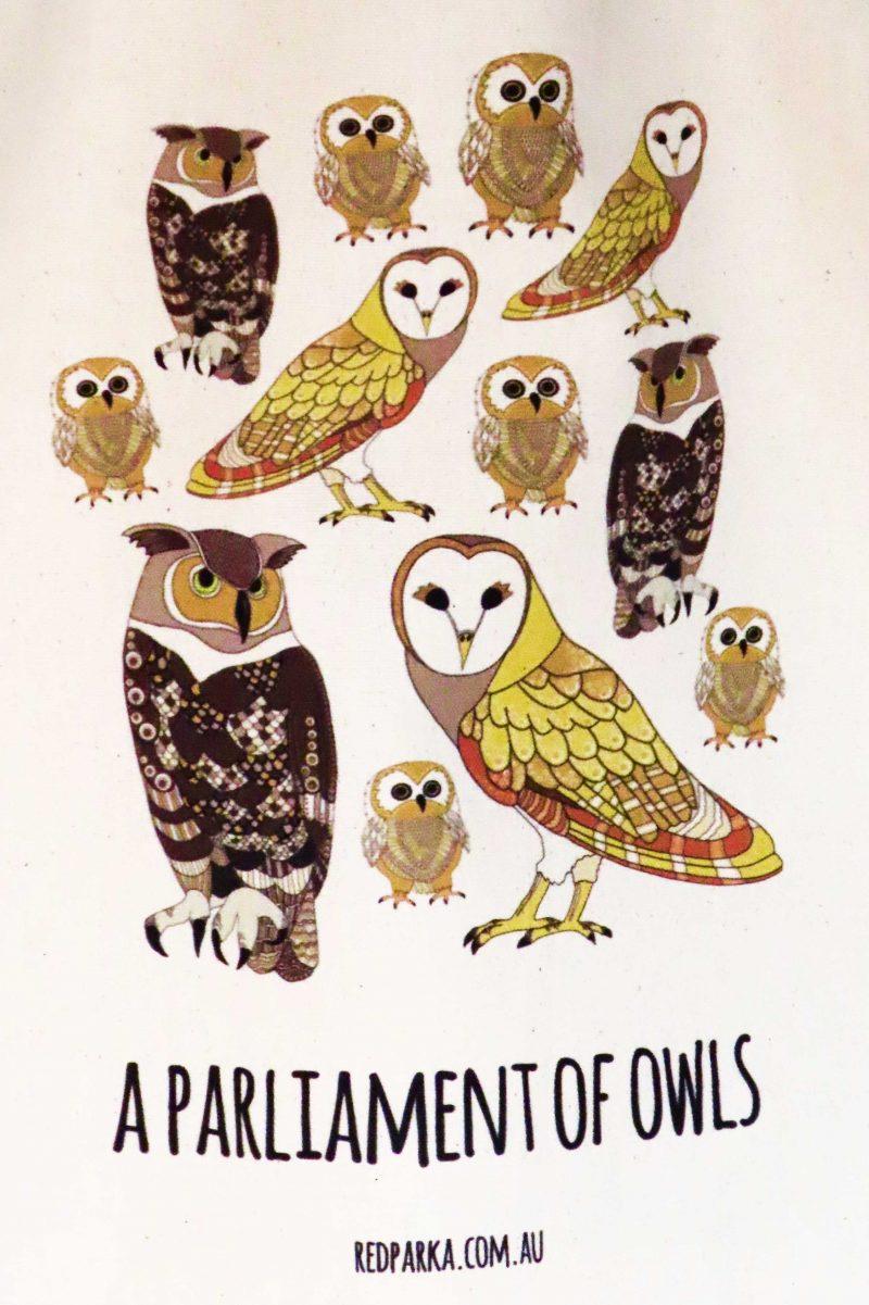 Parliament of Owls Tote Bag